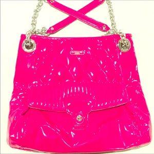 {Coach}  Poppy Liquid Gloss Patent Leather Tote